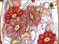 Sabor de Vida Artesanatos | Pintura em Tecido por Luis Moreira - 28 de M...