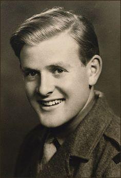 John le Carré, as a National Service second-lieutenant, aged 20