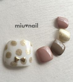 Coo toe nail art design | ideas de unas