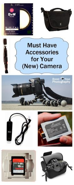 Must Have Accessories for Your (New) Camera | Boost Your Photography