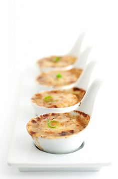 Scallops Gratinee with Wine, Garlic, and Herb
