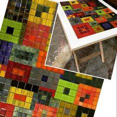 Mozaik Sanat Evi: Cam Mozaik Yeni Renkler