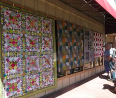 Wish I could have been at the Sisters Show! Modern Quilt Guild at Sister's Quilt Show