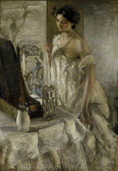 artemisdreaming:The Pearl Necklace, 1905,Accession number 7271 Art Gallery of New South Wales Henry Tonks (England 09 Apr 1862 – 08 Jan ...