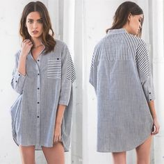 ADELYN Oversized Plaid Button-Up Top - BLACK Super comfy & chic boyfriend button up top. NO TRADE, PRICE FIRM Bellanblue Tops