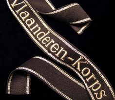 Vlaanderen-Korps Cuff Title | OR/NCO RZM Machine-Embroidered
