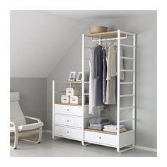 IKEA - ELVARLI, 2 secciones, Gracias a su altura es ideal para techos…