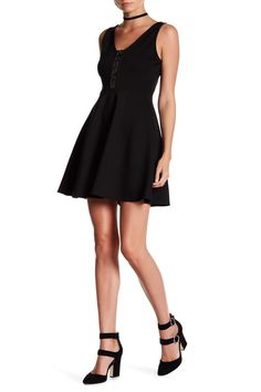59daeff7f1ac3 Ponte Fit & Flare Dress Fit And Flare, Fit Flare Dress, Vanity Room,