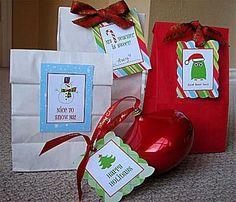 43 Sets of Free Printable Christmas Gift Tags: Living Locurto's Printable Christmas Gift Tags & Labels