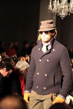 Habitually Chic®: Michael Bastian Fall 2012: The Extra Man