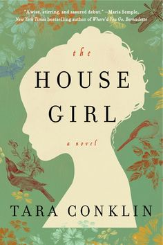 "The House Girl by Tara Conklin - Tara Conklin's historical fiction debut is an unforgettable story of love, history, and a search for justice, set in modern-day New York and 1852 Virginia. Of The House Girl, Marie Claire says ""this will be the book-club book of 2013."" Giveaway alert! Add this book to your To Be Read shelf and tweet the link for a chance to win a prize!"