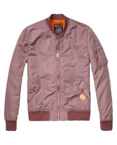 Bomber jacket - http://webstore-all.scotch-soda.com/men/jackets-%26-coats/bomber-jacket/14010110026.html?dwvar_14010110026_color=faded%20plum#start=1&cgid=9