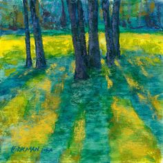 Trees, Standing by Rita Kirkman Pastel ~ 6 x 6 inches