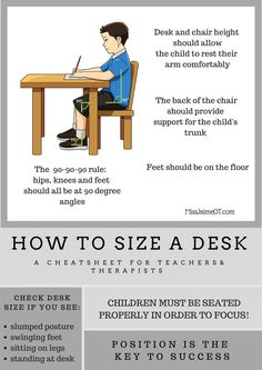 How to Size A desk