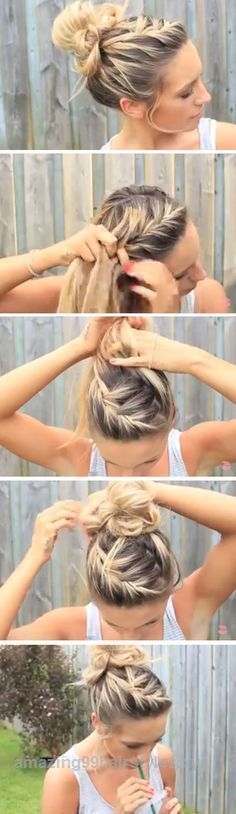 Insane A messy bun is PERFECT for the beach, but here are a few more hairstyles you can try out this summer!