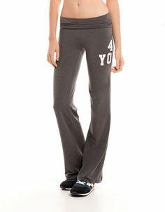 Bershka Turkey - Bershka flared sports trousers