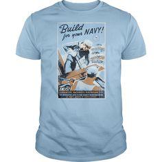 (Tshirt Discount) Navy Build Your Navy [Tshirt design] Hoodies