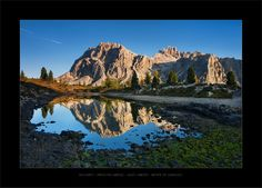 Reflection II by Daniel Řeřicha on Mountain Photos, Travel Photographer, Wonders Of The World, Reflection, Art Photography, Explore, Mountains, Landscape, Artwork