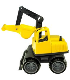 Sandpit Excavator Yellow From Ludius from The Wooden Toybox