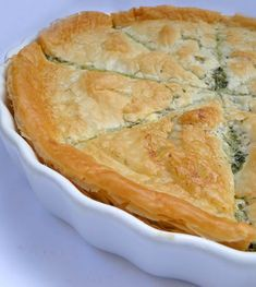 Recipe for Spanakopita - Greek Spinach Pie