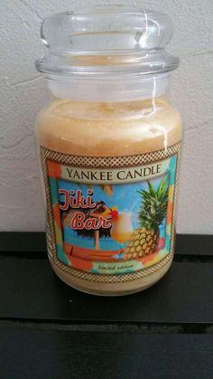 Yankee Candle Tiki Bar Jar Candle 22 oz Limited Ed #YankeeCandle