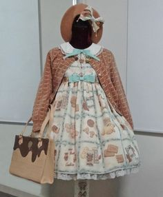 Angelic Pretty Cream Cookie Collection coord