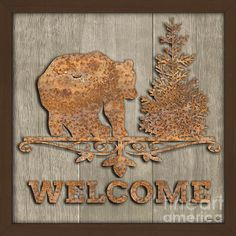 I uploaded new artwork to plout-gallery.artistwebsites.com! - 'Rusty Bear Welcome-jp3466' - http://plout-gallery.artistwebsites.com/featured/rusty-bear-welcome-jp3466-jean-plout.html
