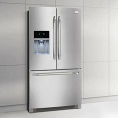 Frigidaire 26.7 cu. ft. French Door Refrigerator in Stainless Steel-FFHB2740PS at The Home Depot