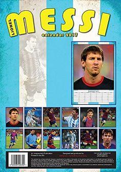 Lionel Messi Calendar - Calendars 2016 - 2017 Wall Calendars - MLS Soccer Calendar - Poster Calendar