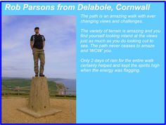 Rob Parsons - South West Coast Path Completer