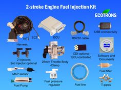 2-stroke Small Engine Fuel Injection Kit
