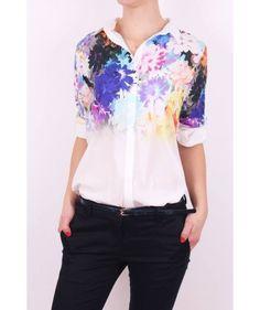Biela blúzka M233 Blouse, Tops, Women, Fashion, Blouse Band, Moda, Women's, La Mode, Shell Tops