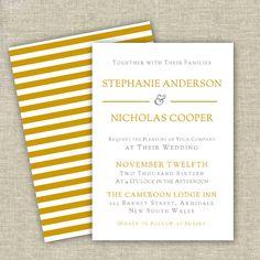 Vintage Modern Wedding Invitation Template Printable DIY Wedding - Modern wedding invitation templates