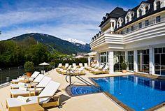 Grand Hotel Lienz in Lienz, Austria Travel Deals, Travel Destinations, Hotels And Resorts, Luxury Hotels, Beautiful Hotels, Grand Hotel, Hotel Spa, Hotel Deals, Austria