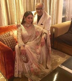 Boney Kapoor on 'Mr India' reboot: It is my ode to Sridevi because she was the sole selling factor of the film Bollywood Couples, Indian Bollywood, Bollywood Actress, Bollywood Designer Sarees, Classic Wedding Dress, Anushka Sharma, Cute Beauty, Indian Outfits