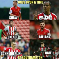 Once upon a time at Southampton