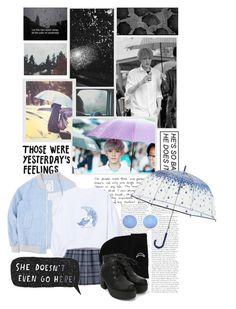 """Rainy day with chanyeol"" by regitaputrimeliyanti on Polyvore featuring Lab, Vera Bradley, Sunday Somewhere, rainy and chanyeol"