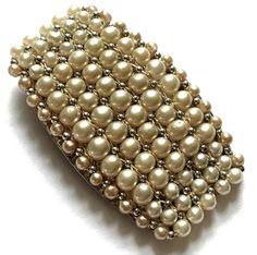 Antiques For Sale, Clip, Deco, Bracelet Watch, Vintage Jewelry, Beaded Bracelets, Fur, Pearls, Amazing