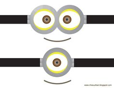 graphic relating to Minions Printable Eyes called 96 Great Minions illustrations or photos in just 2018 Themed functions, Young children portion