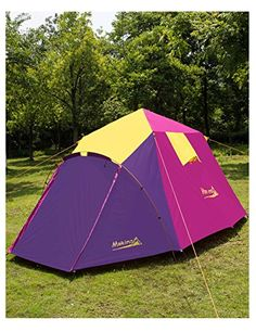 Outsunny 3-4 Person Pop Up C&ing Tent 2-Layer Instant Hike Waterproof Shelter | Instant Pop-up Tents | Pinterest | Tents & Outsunny 3-4 Person Pop Up Camping Tent 2-Layer Instant Hike ...