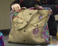 another Scout uniform purse