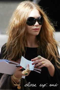 Close Up: Mary-Kate Olsen #style #fashion #olsentwins