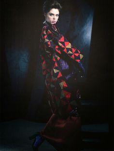 Coco Rocha by Ben Cope for Harper's Bazaar Russia May 2014