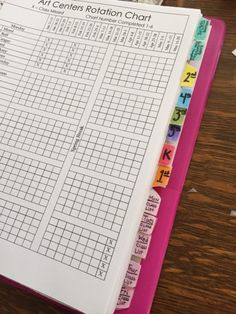 With Centers, the teacher can create a Sub Notebook so the Centers can continue when the teacher is absent
