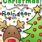 Christmas+Activities+Reindeer+Edition+is+a+packet+of+reindeer+activities+for+the+Christmas+season.  The+packet+includes:  1.+What+I+Know+About+Rein...