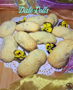 Recipe Videos, Food Videos, South African Desserts, Date Rolls, Ethnic Food, Rolls Recipe, Indian Food Recipes, Biscuits, Dating