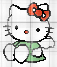 hello kitty cross stitch