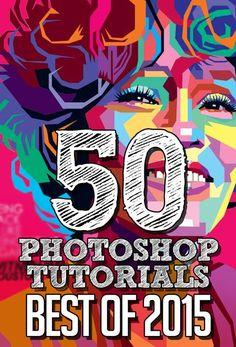 50 Best Adobe Photoshop Tutorials of 2015 http://graphicdesignjunction.com/2015/11/photoshop-tutorials-best-of-2015/ #Photoshop #GraphicDesign #tutorials