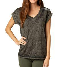 Fox Racing Constant Vneck Roll Women's Short-Sleeve Shirts