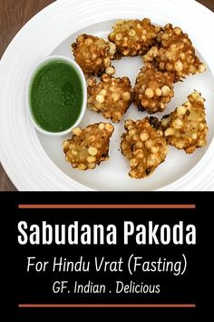 Sabudana Pakoda Recipe - deep fried fritters made from tapioca pearls, crushed peanuts and fasting flour and yogurt. The texture of this pakoda is crispy from the outside and soft from the inside. It is light and filling snack recipe.They are light, soft and fluffy from inside. And those soaked sabudana are fried and become really crispy. It was just tongue tickling, trust me you will sure love this. Tapioca Pearls, Filling Snacks, Cinnamon Powder, Roasted Peanuts, Fritters, Cinnamon Sticks, Spice Things Up, Indian Food Recipes, Yogurt
